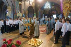 Молебен в Екатеринодарской ДС