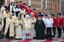 На Кубани встретили мощи святого Феодора Ушакова