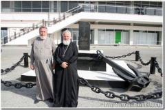 Официальный визит благочинного Сиднейской и Австралийско-Новозеландской Епархии Русской Православной Церкви заграницей в Новороссийск